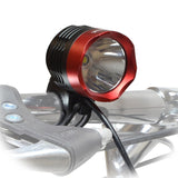 Bicycle Headlight Set with Helmet Mount 1000 Lumen