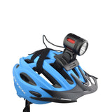 Bicycle Headlight Set with Helmet Mount