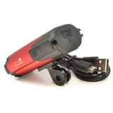 Bike Headlight: USB Rechargeable with Tail light Set