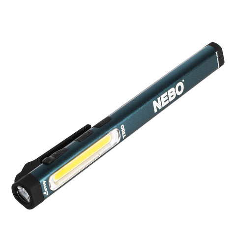 Nebo Larry Trio Rechargeable 300 Lumen Flashlight LED Work Light with Red Light