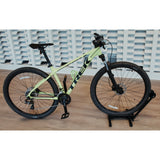 Lumintrail Bike Floor Storage Stand for Mountain and Road Bicycle Indoor Outdoor Garage Storage
