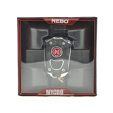 Nebo Mycro Rechargeable Keychain Flashlight (Black)