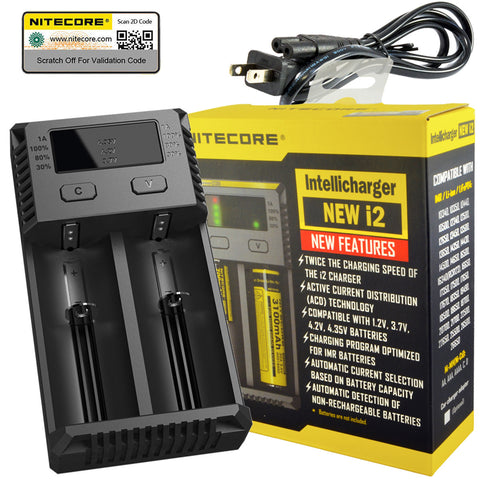 Nitecore NEW i2 Intellicharger  - 2016 Version