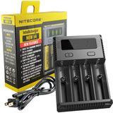 Nitecore NEW i4 Intellicharger - 2016 Version