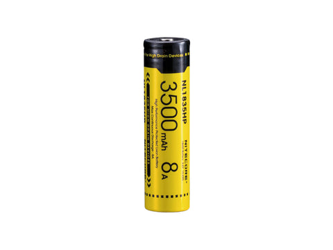Nitecore NL1835HP 3500mAh Protected 18650 Rechargeable Battery