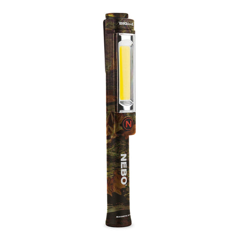 Nebo Big Larry 2 Work Light Flashlight 500 Lumen LED Magnetic Base - Camo