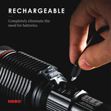 Nebo Redline 6K Rechargeable Flashlight 6000 Lumen LED Light