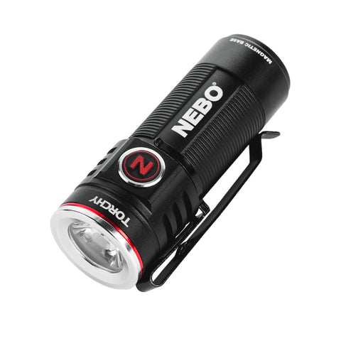 Nebo Torchy Rechargeable Flashlight 1000 Lumen Pocket Light with MagDoc