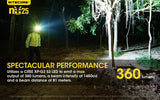 NITECORE NU25 - 360 Lumen CRI LED Rechargeable Headlamp - (Yellow)