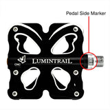 Bicycle Pedals Butterfly CNC Alloy Sealed Bearing
