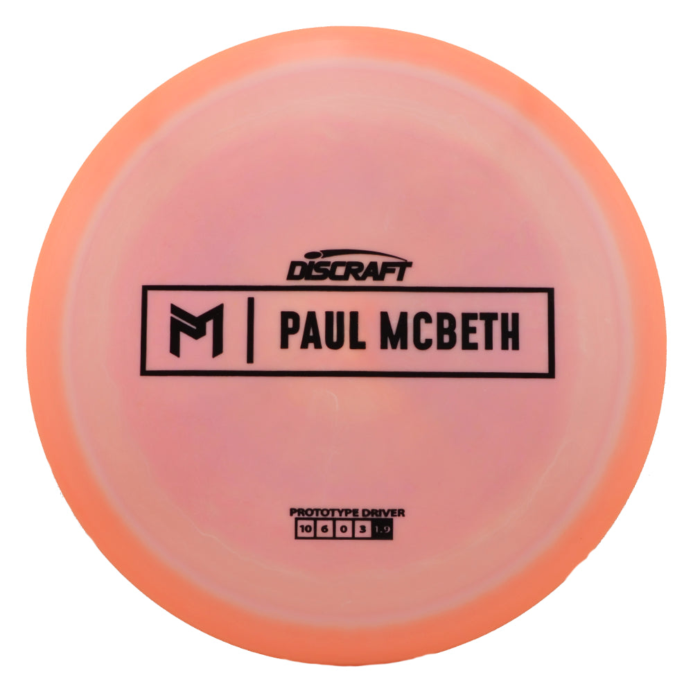 Discraft Paul McBeth Proto Fairway Driver Golf Disc - Colors May Vary