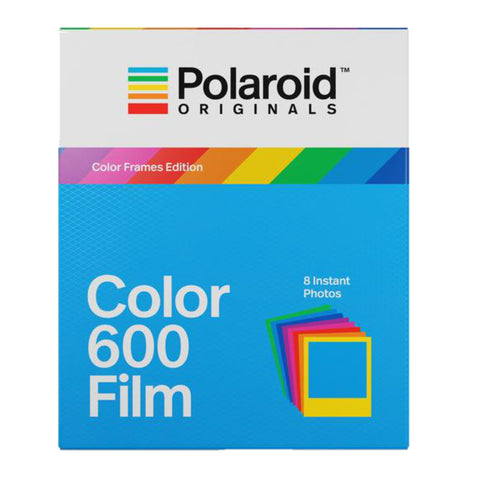 Polaroid Originals 4672 Color Instant Film for 600 and i-Type Cameras with Color Frames