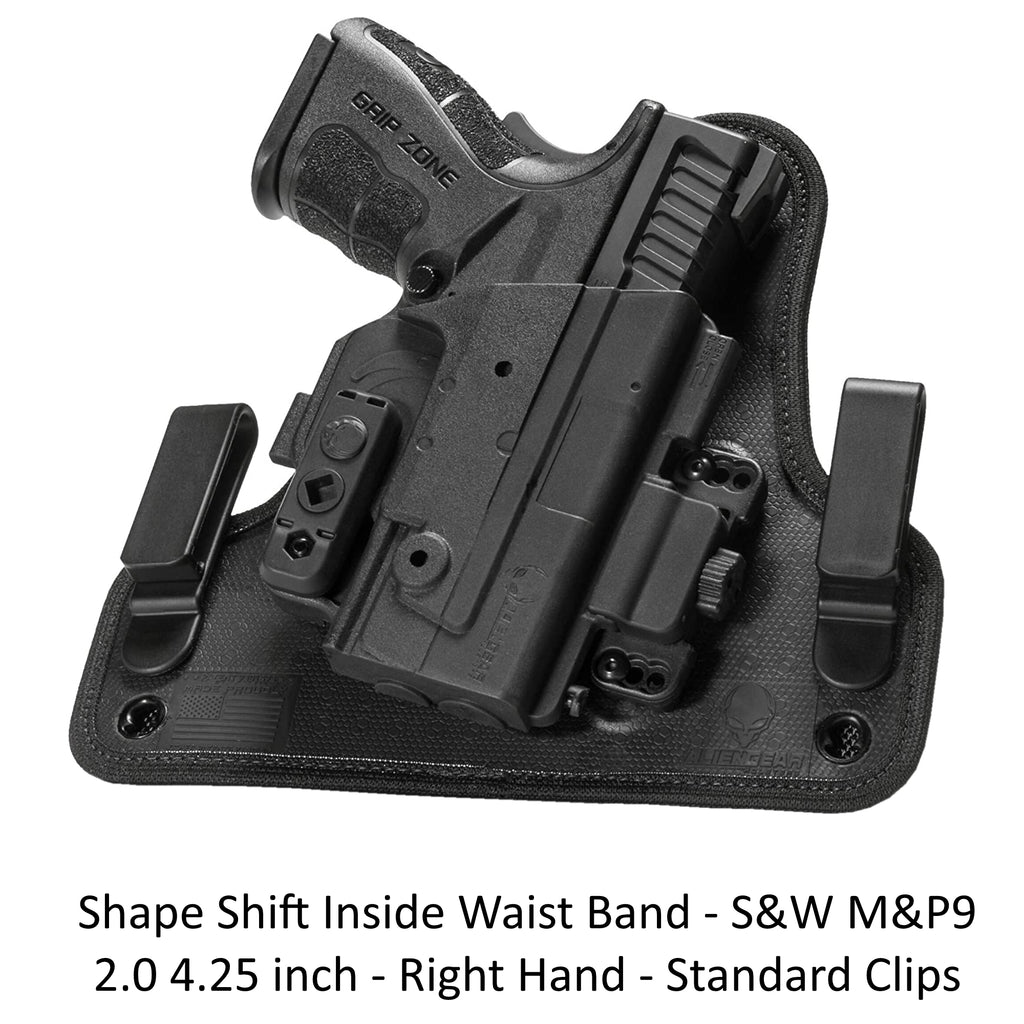Alien Gear Holsters Shape Shift Inside Waist Band - S&W M&P9 2.0 4.25 inch - RH