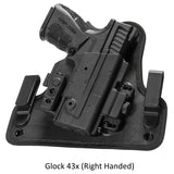 Alien Gear Holsters Glock - 43x ShapeShift 4.0 IWB Holster Right Handed
