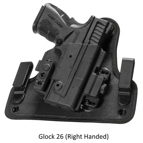 Alien Gear Holsters Glock - 26 ShapeShift 4.0 IWB Holster - Right Handed