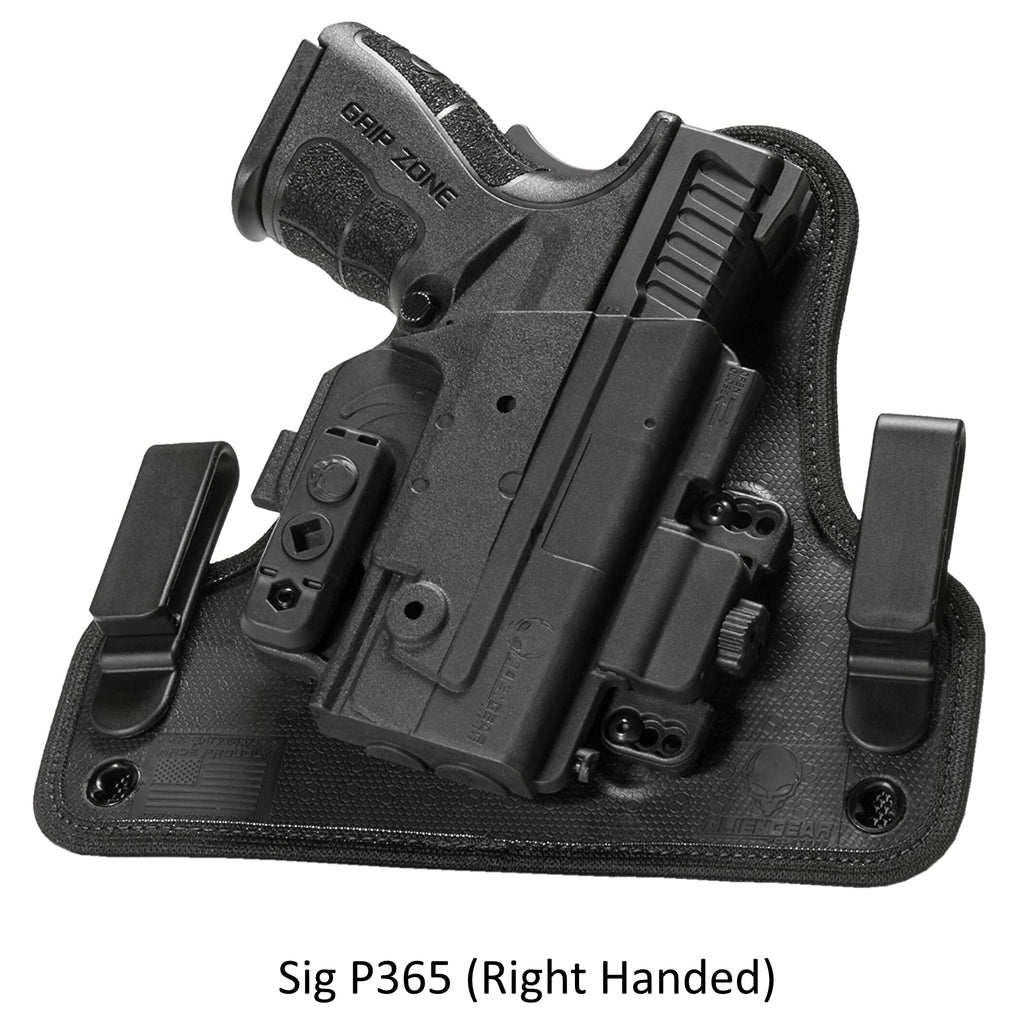 Alien Gear Holsters Sig P365 ShapeShift 4.0 IWB Holster Right Handed