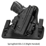 Alien Gear Holsters Springfield XDs 3.3 ShapeShift 4.0 IWB Holster Right Handed
