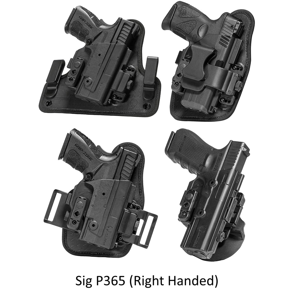 Alien Gear Holsters Sig P365 ShapeShift Core Carry Pack - Right Handed