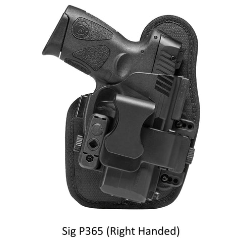 Alien Gear Sig P365 ShapeShift Appendix Carry Holster - Right Handed
