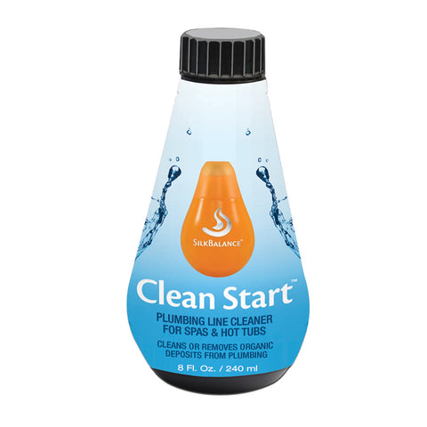 SilkBalance Clean Start Plumbing Line Cleaner For Spas and Hot Tubes - 8 Fl Oz