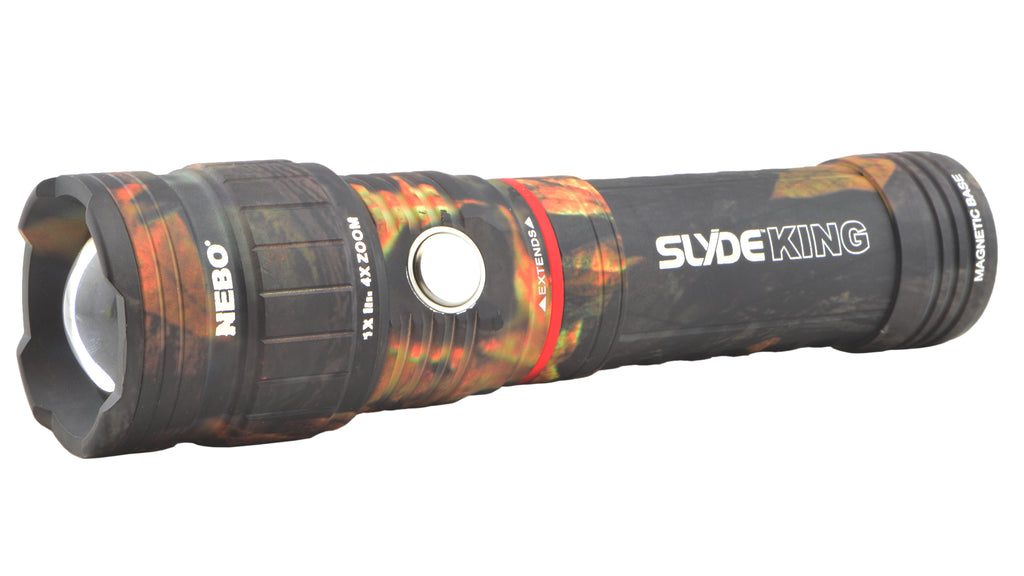 Nebo 6643 Slyde King CAMO Rechargeable Flashlight