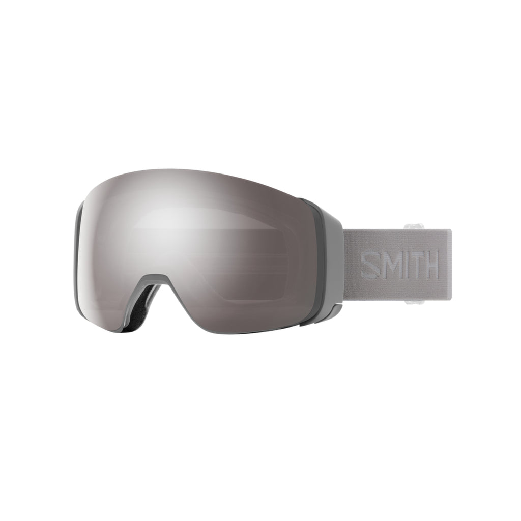 Smith 4D MAG Snow Goggles Cloudgrey with ChromaPop Sun Platinum Mirror Lens