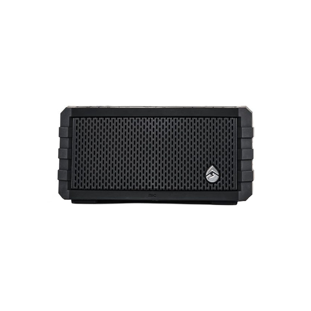 ECOXGEAR Sol Jam HD Solar Waterproof Bluetooth Speaker 12 HR Battery Life - Black