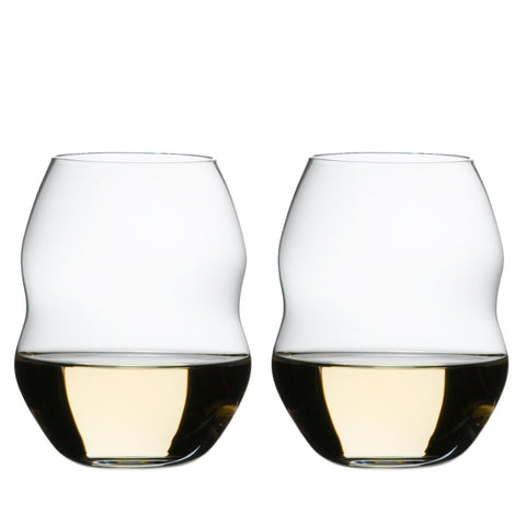 Riedel Swirl White Wine Glass, Set of 2