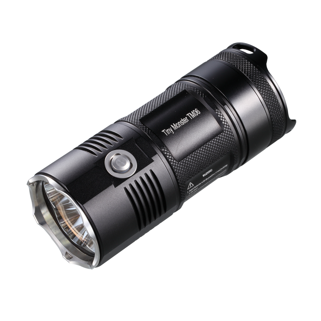 NiteCore TM06 XM-L2 U3 4000 Lumen Flashlight