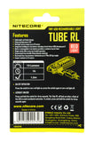 Nitecore Tube-RL Red LED USB Rechargeable Keychain Light