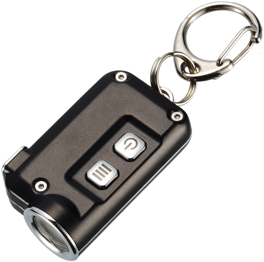 NITECORE TINI USB Rechargeable LED Keychain Light - Black