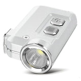 NITECORE TINI USB Rechargeable LED Keychain Light - Silver