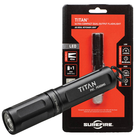 Surefire Titan Ultra-Compact Dual-Output Flashlight