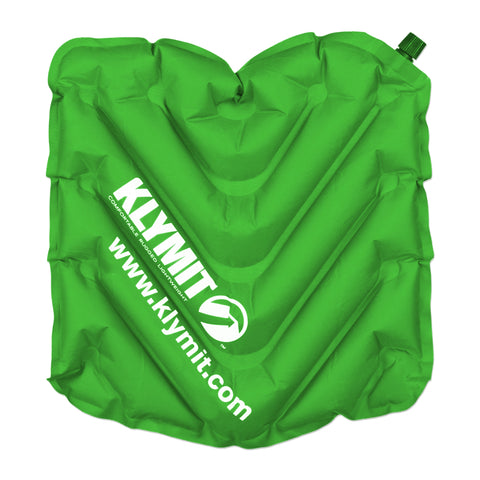 Klymit V Seat Camping Bleacher Inflatable Seat Green - 12VSBL01B