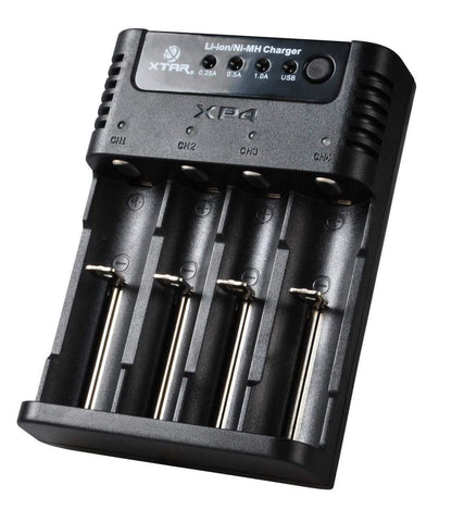 Xtar XP4 Panzer Ni-MH/Li-ion Battery Charger