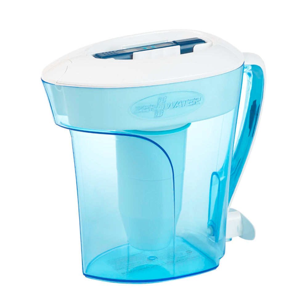 ZeroWater 10 Cup Water Filter Pitcher with Water Quality Meter