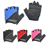 Shock Absorbing Half Finger Bicycle Gloves