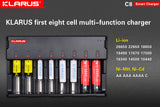 Klarus C8 Charger for Li-ion Ni-MH and Ni-Cd batteries