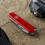Victorinox Swiss Army Climber Pocket Knife Multitool 14 Functions - Red