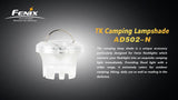 Fenix TK Series Camping Lampshade AD502 for TK & TA Series