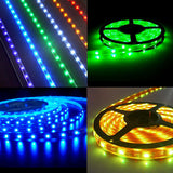 Futlight RGB Dimmable 30PCS LED Flexible Waterproof Strip