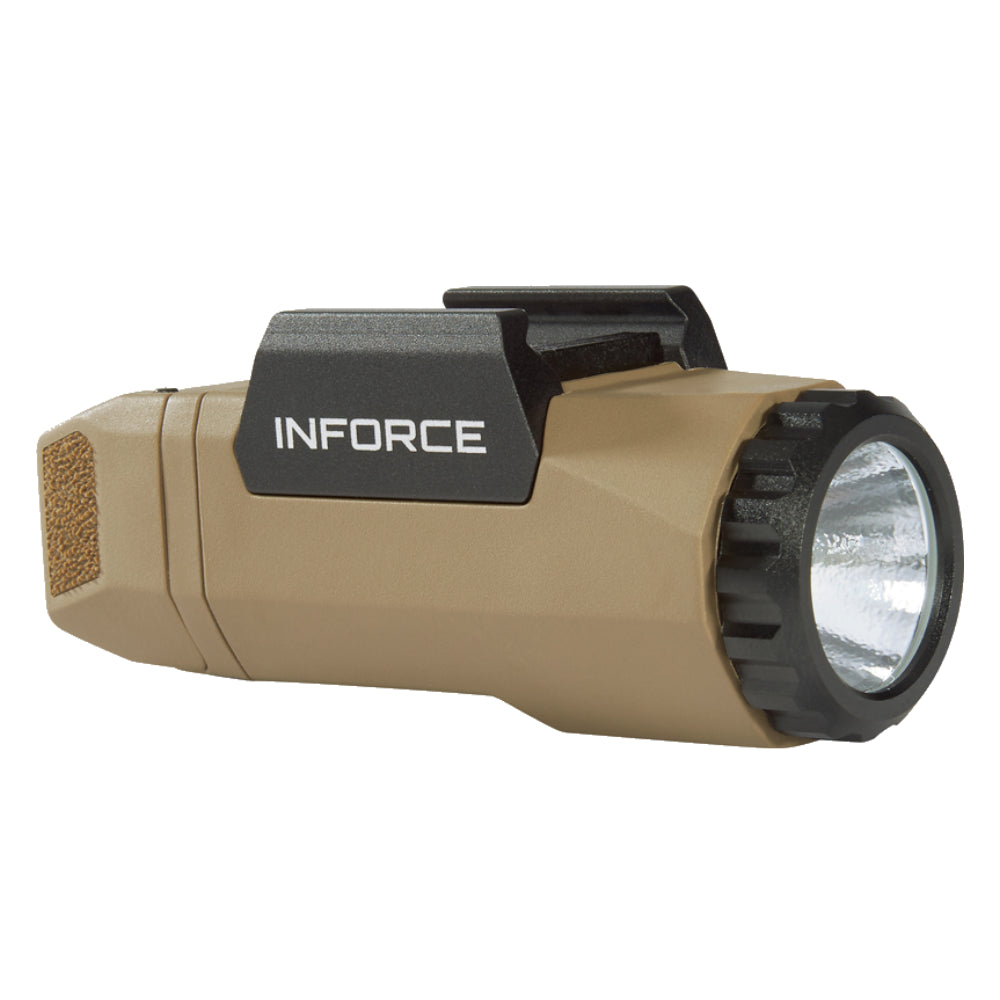 InForce APL Gen 3 Weapon Mounted Tactical Light 400 lms A-06-1 - Flat Dark Earth