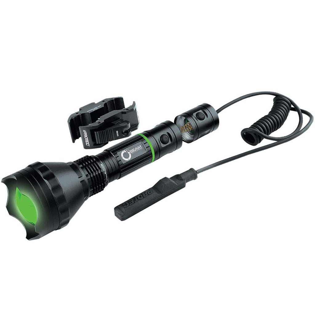 Nebo iProtec 6008 O2 Beam Long Range Series 300 Lumens Green