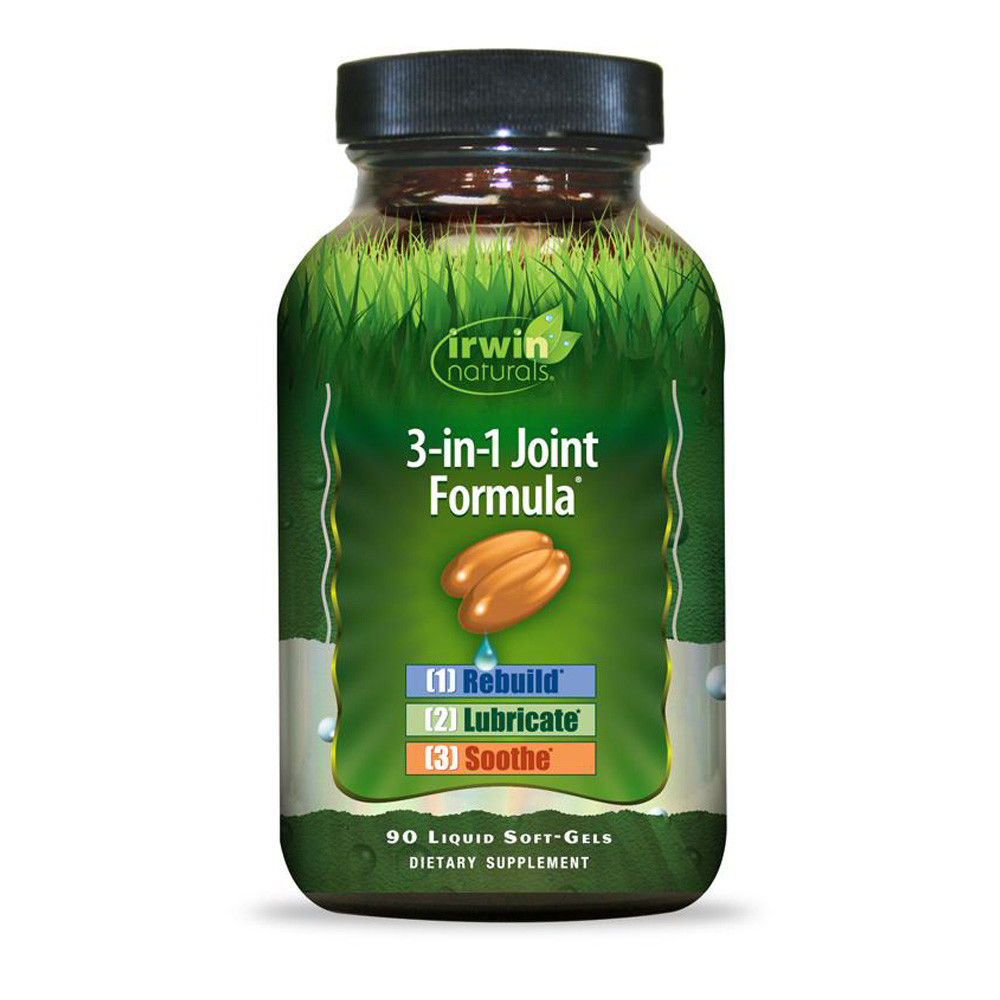 Irwin Naturals 3-In-1 Joint Formula Supports Healthy Joints - 90 Soft-Gels
