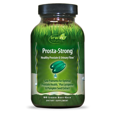 Irwin Naturals Prosta-Strong, Supports Prostate Health and Urinary Flow - 90 ct