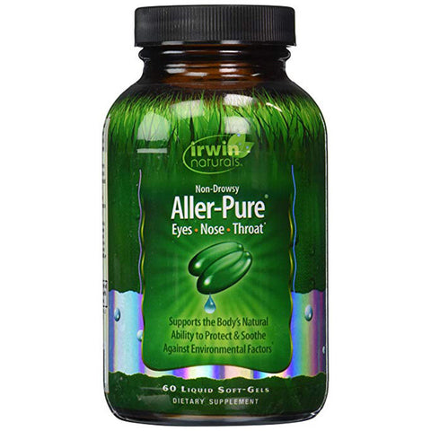 Irwin Naturals Aller-Pure Dietary Supplement Liquid Soft-Gels, 60 count