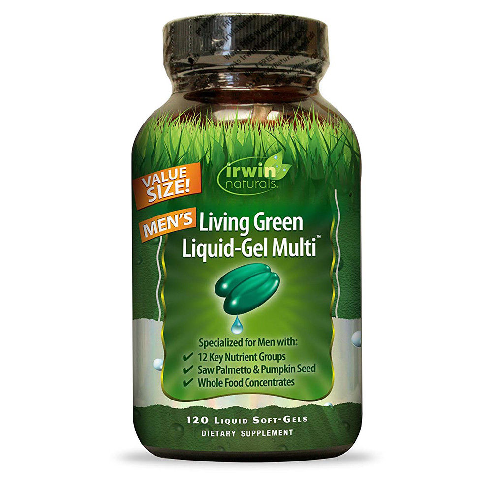 Irwin Naturals Men's Multivitamin with Whole Foods & Nutrients - 120 ct