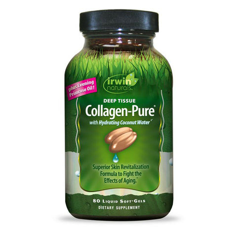 Irwin Naturals Deep Tissue Collagen-Pure Intense Aging Skin Nourishment - 80 ct