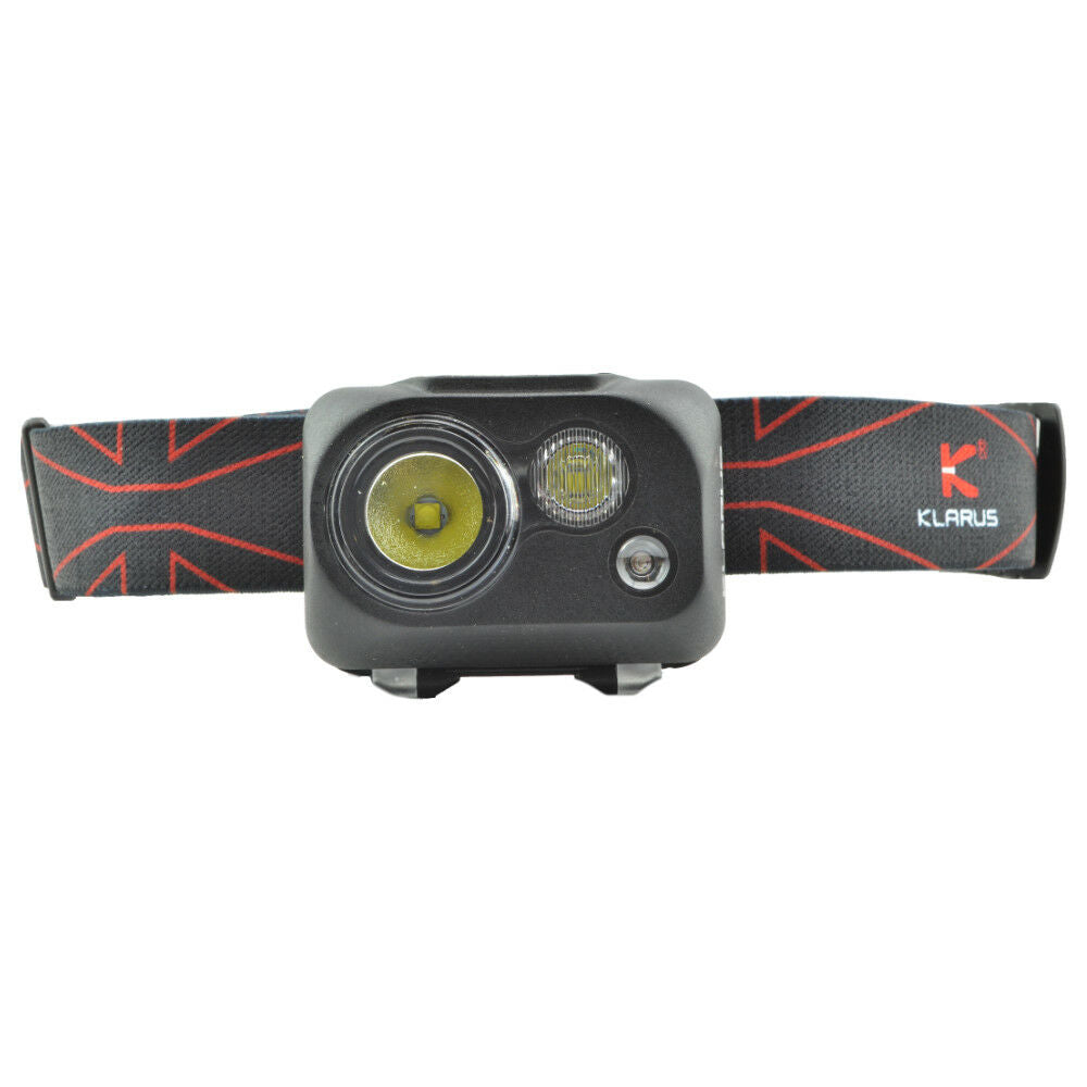 Klarus HC1-R 300 Lumen Waterproof Headlamp Lightweight 3 LEDs  White & Red Light