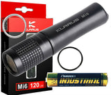 Klarus - Mi6 - Brightest 120 Lumens CREE XP-G3 LED Mini Keychain Flashlight